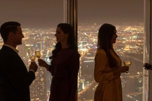 Burj Khalifa and The Lounge experience