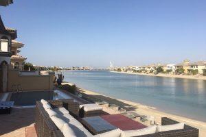 Palm Island Jumeirah beach villa
