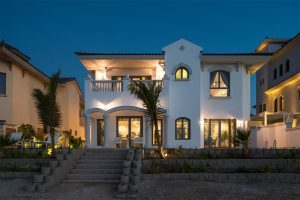 Dubai Villa with Sea View