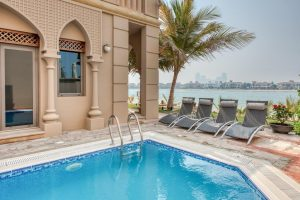 Dubai Holiday villa with pool